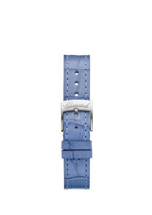 Chopard Happy Sport Automatic Steel BLue Leather Strap MOP Dial  30mm