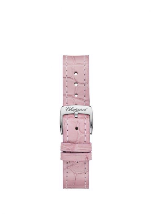 Chopard Happy Sport Automatic Rose Gold - Steel Pink Strap MOP Dial  30mm