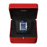 Cartier Tank MC Steel Leather