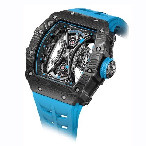 Richard Mille Men Watch RM 53-01 Manual Winding Tourbillon Pablo Mac Donough