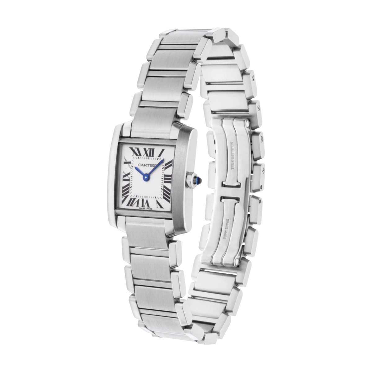 Cartier Tank Francaise Small Model Steel