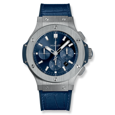 Hublot Big Bang Chronograph Steel Blue 44mm