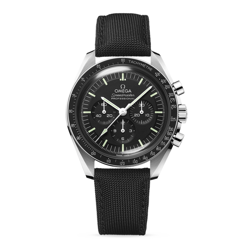Omega Speedmaster Moonwatch Professional Master Chronometer fabric strap
