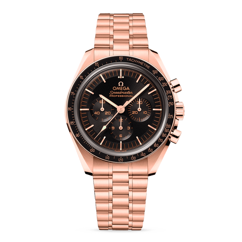Omega Speedmaster Moonwatch Professional Master Chronometer Sedna™ gold