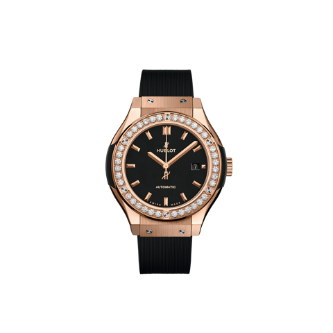 Hublot Classic Fusion Black King Gold Diamonds 33 mm