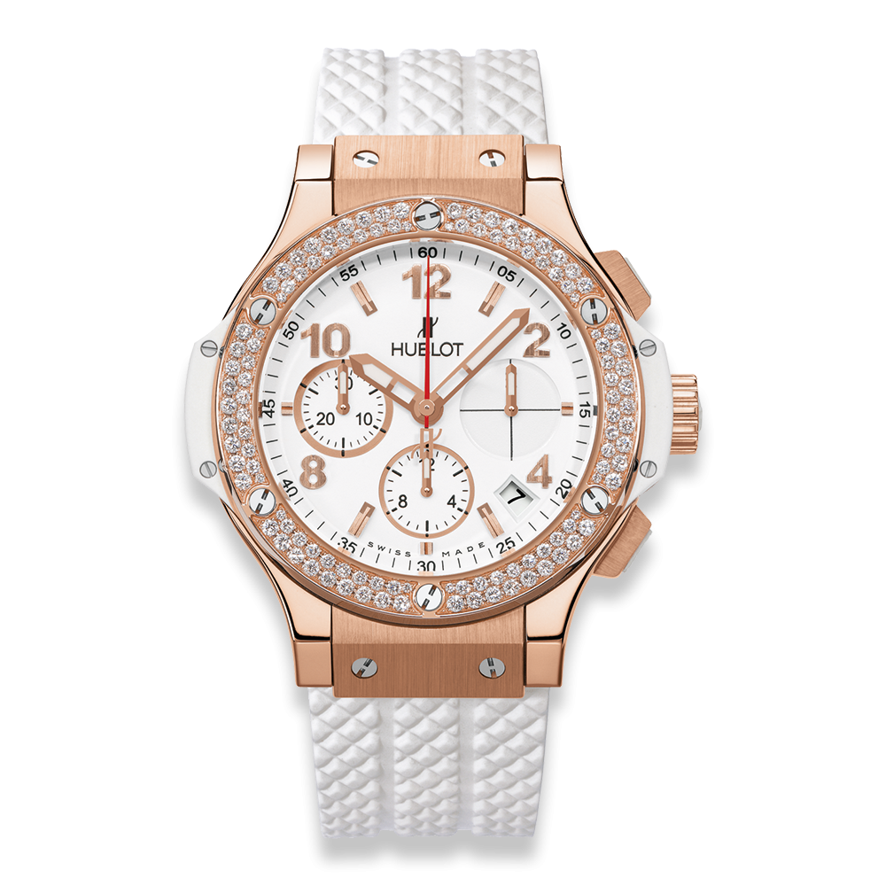 Hublot Big Bang Chronograph Gold Diamonds 41mm