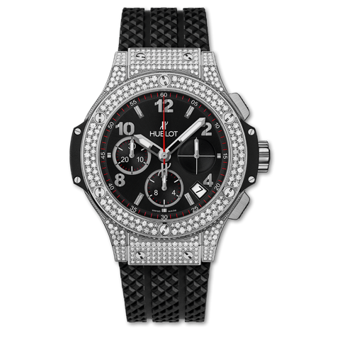 Hublot Big Bang Chronograph Steel Pavé 41mm