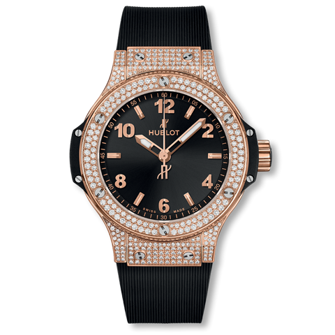 Hublot Big Bang Gold Pavé 38mm