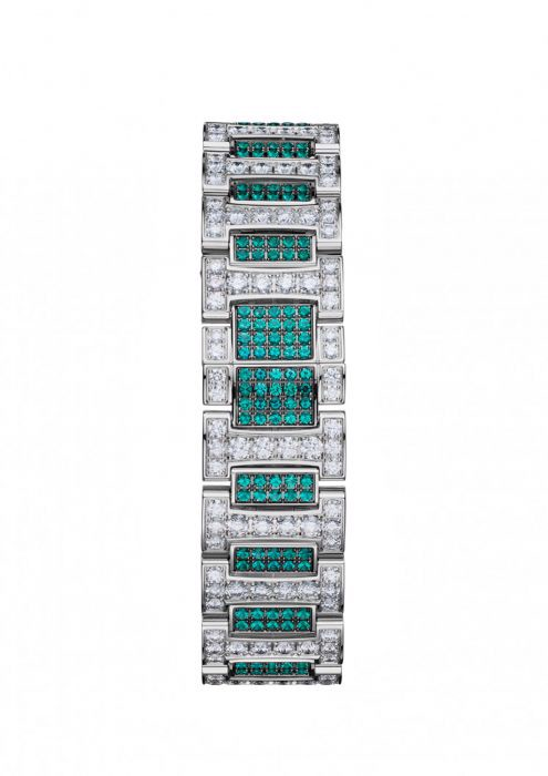 Chopard Imperiale Automatic Emeralds - Diamond White Gold Bracelet 40mm