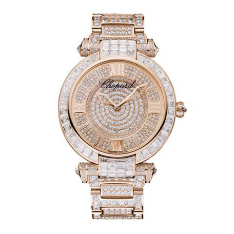 Chopard Imperiale Automatic Full Diamond Rose Gold Bracelet 40mm