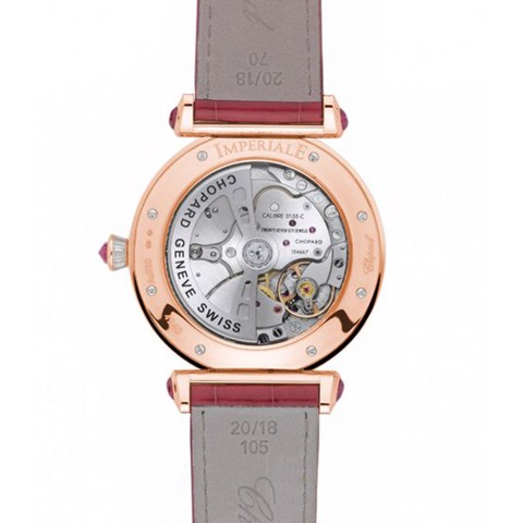 Chopard Imperiale Automatic Rubies - Diamond Rose Gold Red Leather 40mm