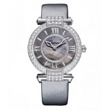 Chopard Imperiale Automatic Diamond White Gold Silver Strap MOP Dial 36mm