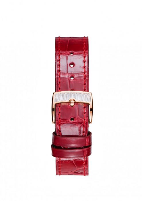Chopard Imperiale Automatic Rubies - Diamond Rose Gold Red Leather 36mm
