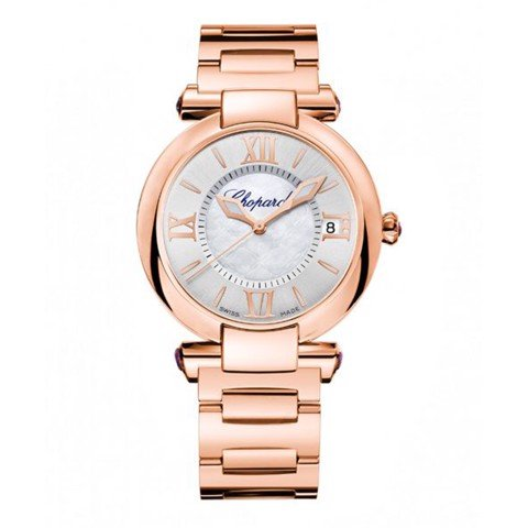 Chopard Imperiale Automatic Rose Gold Bracelet MOP Dial 36mm