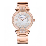 Chopard Imperiale Automatic Diamond Rose Gold Bracelet MOP Dial 36mm