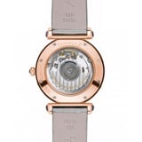 Chopard Imperiale Automatic Rose Gold Silver Fabric Strap 36mm