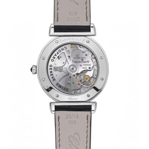 Chopard Imperiale Automatic Steel Black Leather Strap 40mm