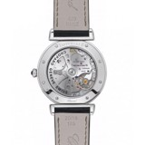 Chopard Imperiale Automatic Diamond Steel Black Leather Strap 40mm