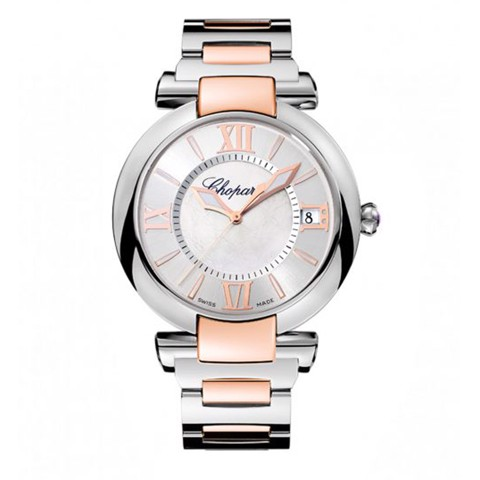 Chopard Imperiale Automatic Rose Gold - Steel Bracelet MOP Dial 40mm