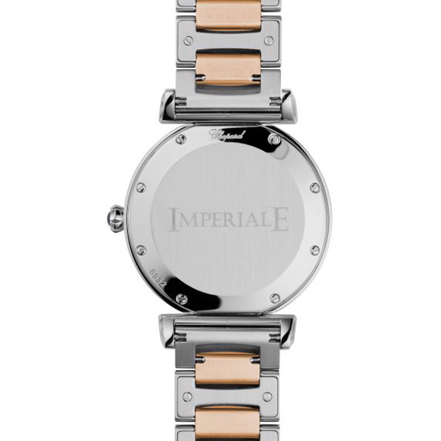 Chopard Imperiale Quartz Diamond Rose Gold - Steel Bracelet 36mm