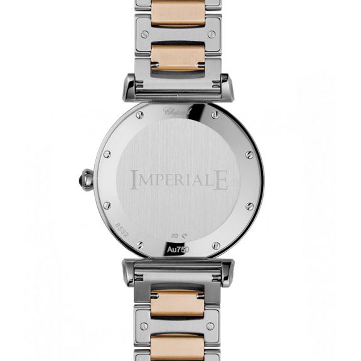 Chopard Imperiale Quartz Rose Gold - Steel Bracelet Green Dial 36mm
