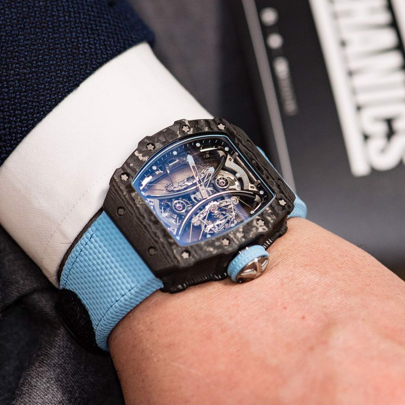 Richard Mille RM 53-01 Manual Winding Tourbillon Pablo Mac Donough –  HARRY&Co.