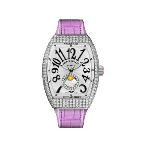 Franck Muller Vanguard Lady Moonphase V 32 SC FO L D CD 1R RN (RS)