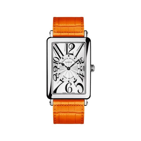 Franck Muller Long Island 952 QZ Orange