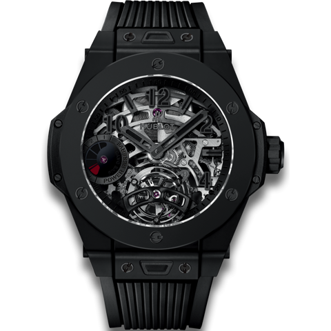 Hublot Big Bang Tourbillon Power Reserve 5 days All Black 45mm