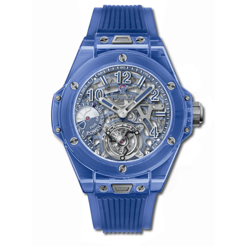 Hublot Big Bang Tourbillon Power Reserve 5 days Blue Sapphire 45mm