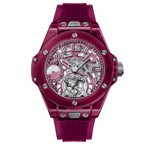 Hublot Big Bang Tourbillon Power Reserve 5 days Red Sapphire 45mm
