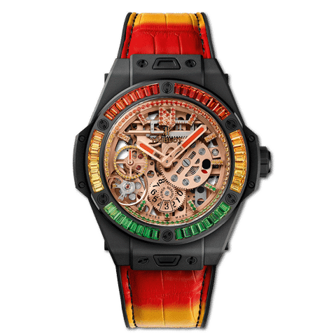 "Hublot Big Bang MECA-10 ""Nicky Jam"" Ceramic _X_ Setting 45mm"