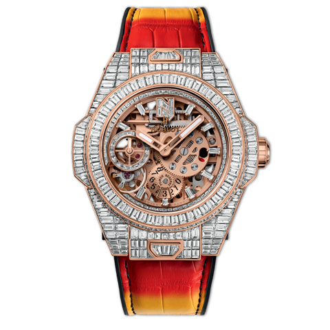 "Hublot Big Bang MECA-10 ""Nicky Jam"" High Jewellery 45mm"