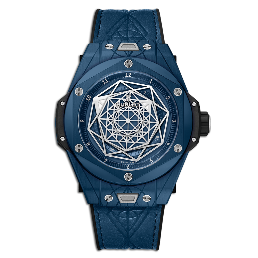 Hublot Big Bang Unico Sang Bleu Ceramic Blue 45mm
