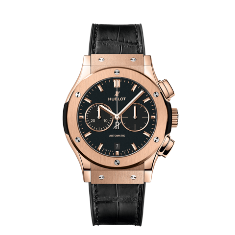 Hublot Classic Fusion Chronograph King Gold Black