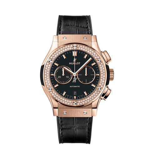 Hublot Classic Fusion Chronograph King Gold Diamonds