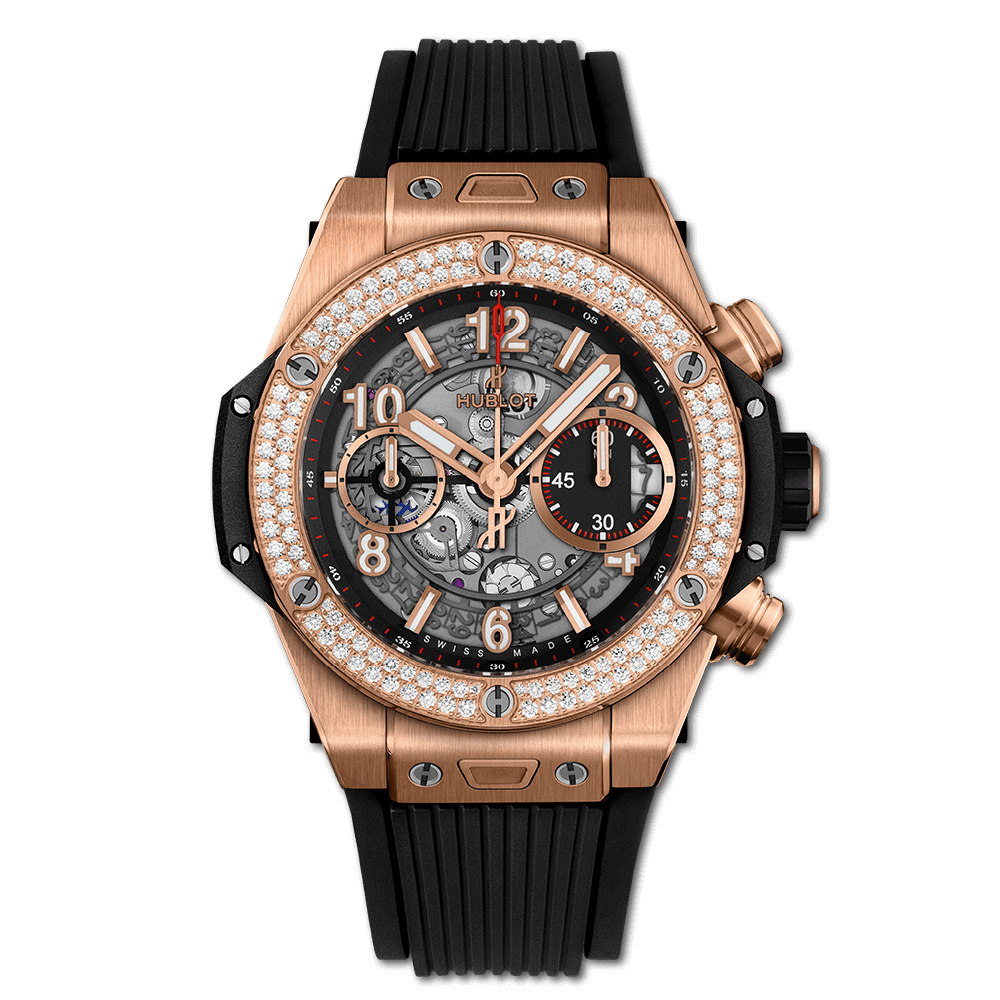 Hublot Big Bang Unico King Gold Diamonds 42mm