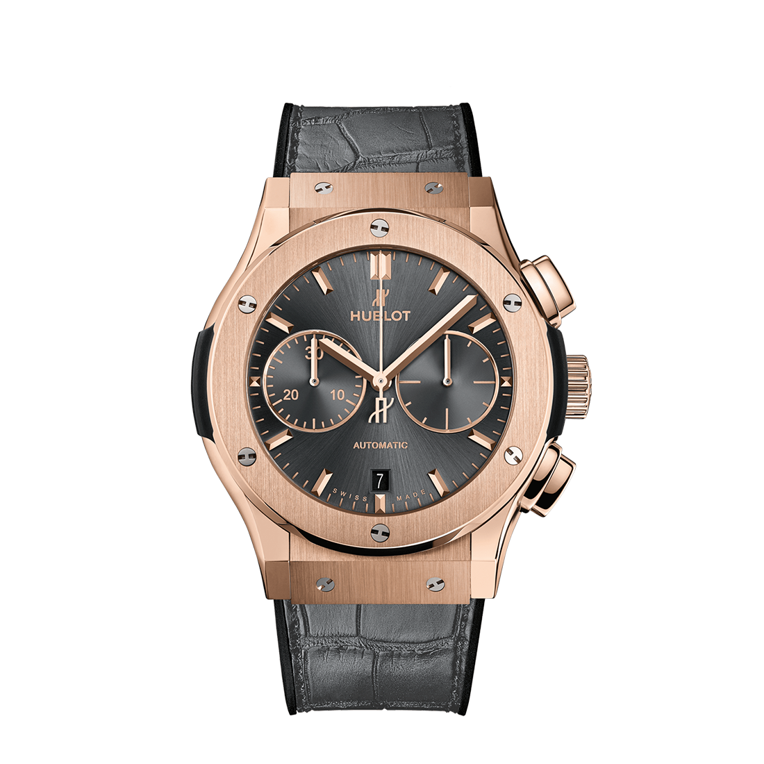 Hublot Classic Fusion Chronograph King Gold Grey
