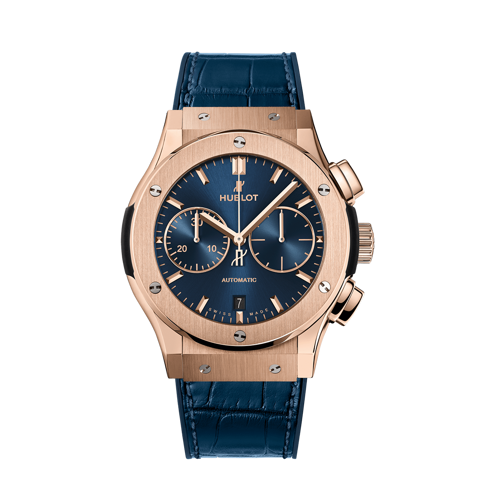 Hublot Classic Fusion Chronograph King Gold Blue