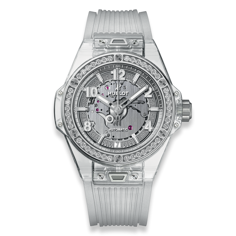 Hublot Big Bang One Click Sapphire Diamonds 39mm