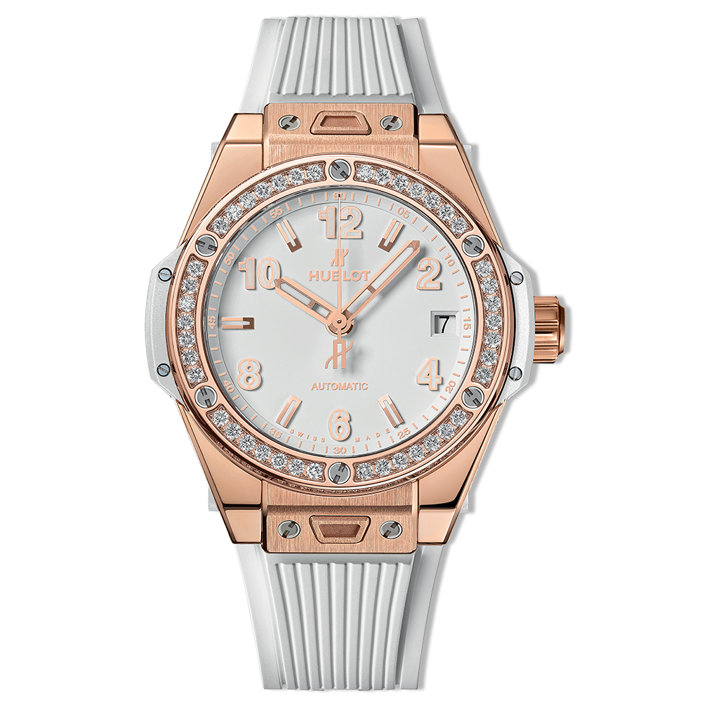 Hublot Big Bang One Click King Gold White Diamonds 39mm