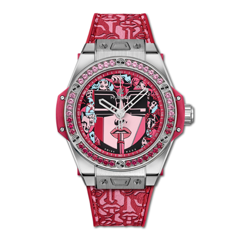 Hublot Big Bang One Click Marc Ferrero Steel Red 39mm