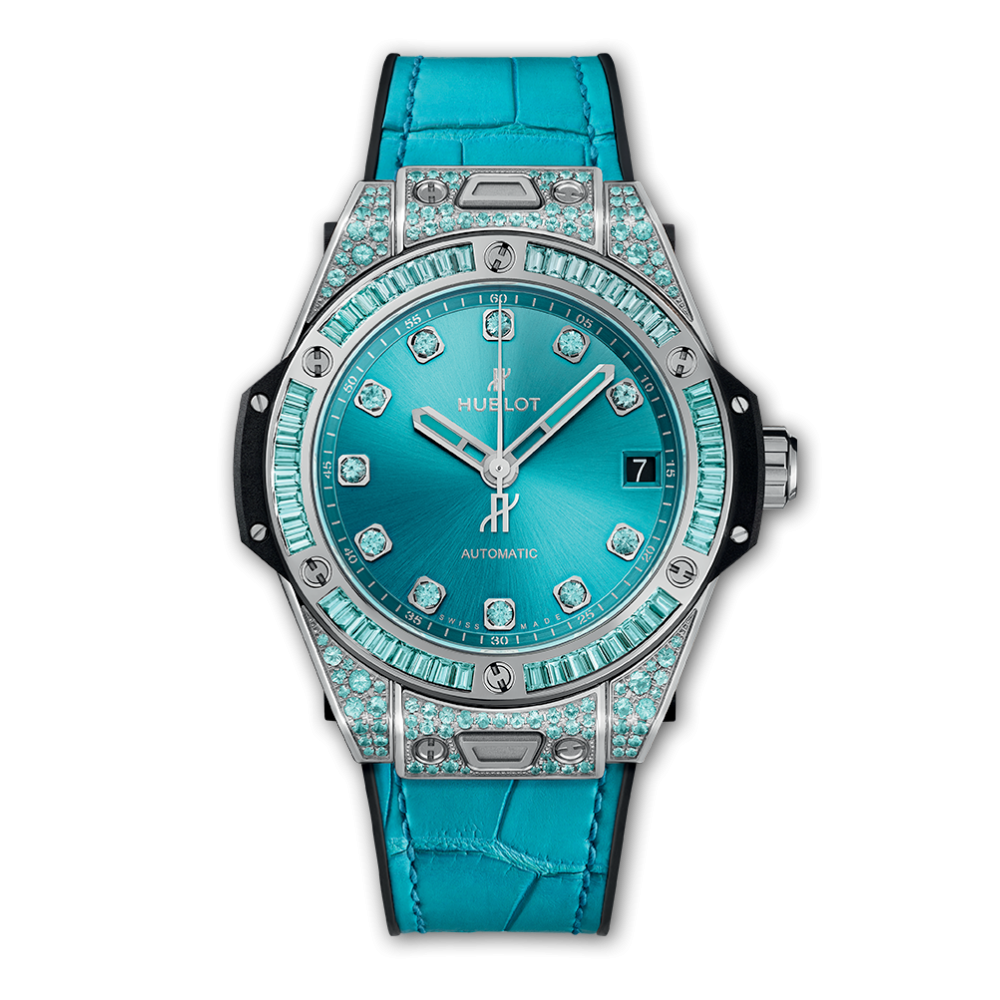 Hublot Big Bang  One Click White Gold Paraiba 39mm