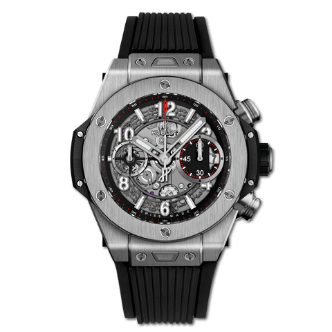 Pre-owned Hublot Big Bang Unico Titanium 42mm