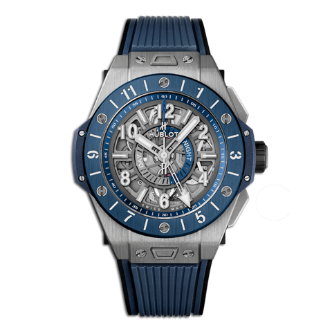 Hublot Big Bang Unico Gmt Titanium Blue Ceramic 45mm