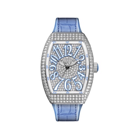 Franck Muller Vanguard Lady Classic V 32 SC AT FO D CD (BL)