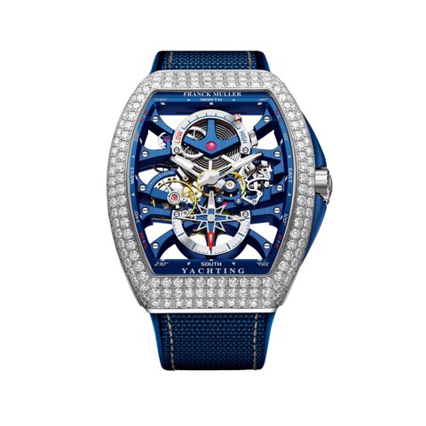 Franck Muller Vanguard Yachting Anchor Skeleton Power Reserve