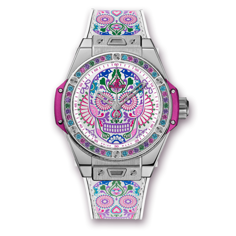 Hublot Big Bang One Click Calavera Catrina Steel 39mm