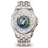 Patek Philippe Complications World Time Platinum Watch 39.5mm