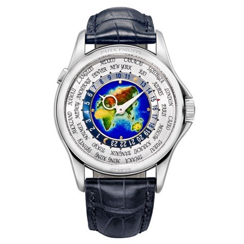 Patek Philippe Complications World Time 5131G-001 Watch 39.5mm